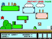 Super Mario Bounce Game Flash Online