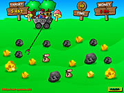 gold super miner Game Flash Online