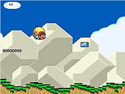 Super Mario world Cape Glide Game Flash Online