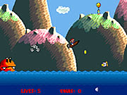 Super Mario Boat Bonanza Game Flash Online