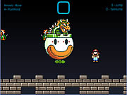 Super Mario Bowser Battle Game Flash Online