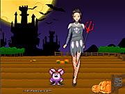 barbie in halloween free game flash online
