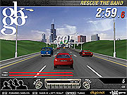 rescue the band game car online