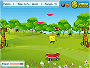 food catcher game sponge bob square pants online f