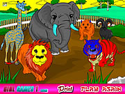 zoo animals coloring game online free