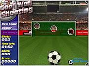 goal wall shooting football game online free