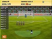 best free kick football game online
