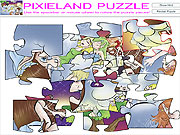 pixieland puzzle game kids online free