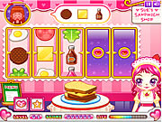 sue sandwich maker game kids online free