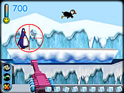penguin arcade shooting game online