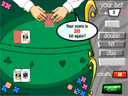 black jack card game online