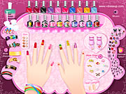 cool manicure free game on line