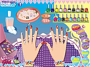 wedding nail makeover free game on line