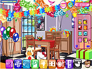 suprise party decor free game on line