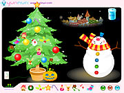 christmas tree decoration free game on line