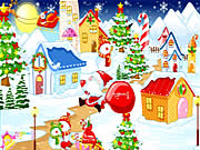santas room decor free game on line