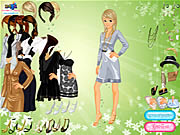 society lady hair styles and dress up free game on