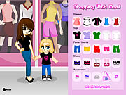 dress up shopping with mom game online