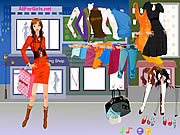 hot fashion shopping girl game online