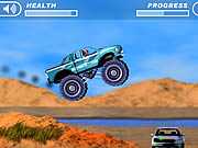 4 wheel madness game truck online