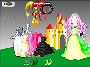 little sister fancy dress up game girls