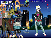 night club dress up game girls