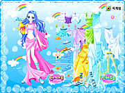 aquarius dress up game girls