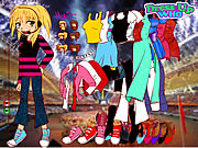 hannah montana dress up game girls