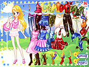pinky girl dress up game girls online