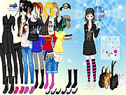 emo girl fashion dress up