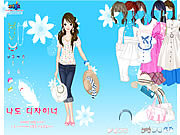 spring hat dress up free game girls online