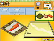 cooking show sushi rolls free