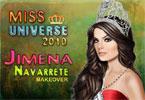 miss universe 2010 makeover make up