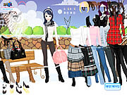 winter trend dress up free girl game online