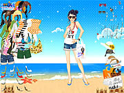 summer time dress up free girl game online