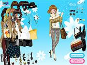 leopard print fashion dress up