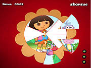 dora the explorer round puzzle online game