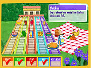 doras do together food pyramid online game