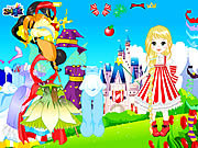 dress up for fairytale doll