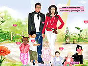 dress up angelina jolie and brad famous celebrity