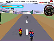 highway dash bike free game online