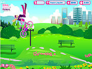 barbie bike stylin ride free online game