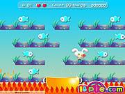rabbit catch fish free online game