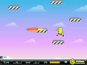 sponge bob power jump free online game