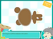 grannys workshop teddy bear free online game