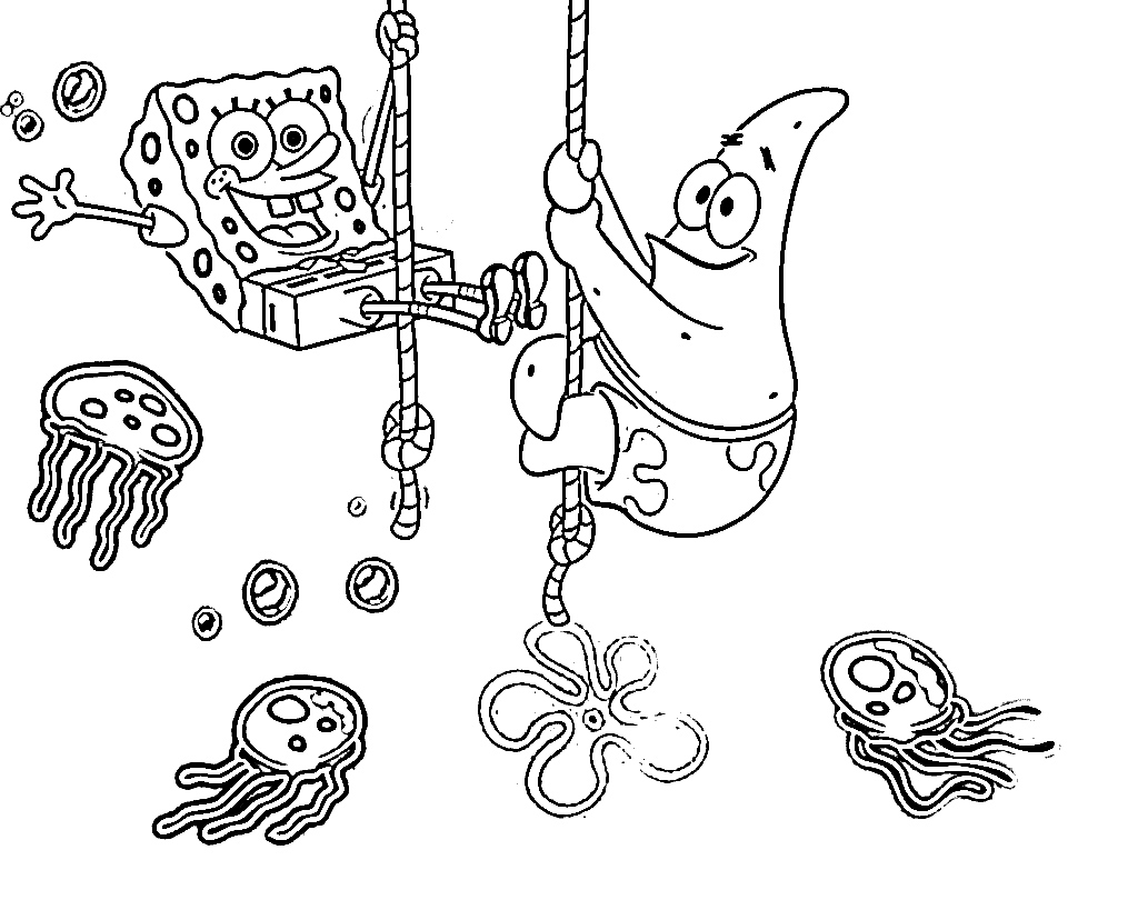 Printable Spongebob Coloring Pages For Kids | 819x1024