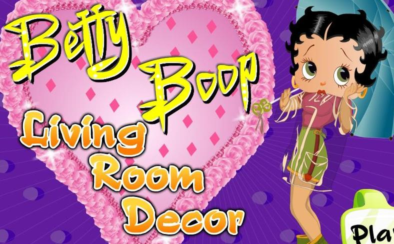 betty boop living room decor flash game online