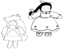 girl child picture coloring