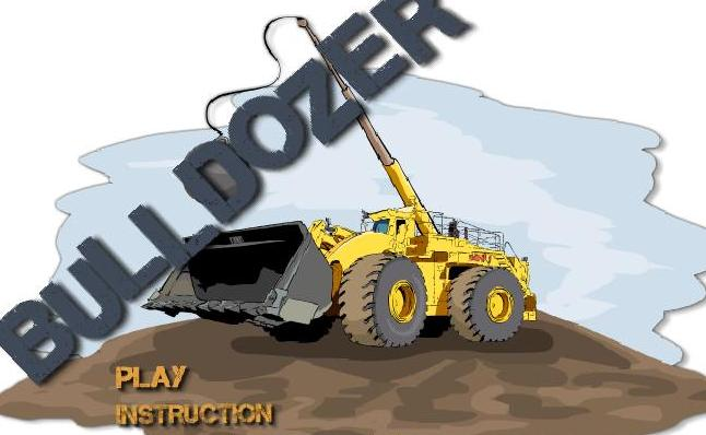 play bulldozer truck flash game