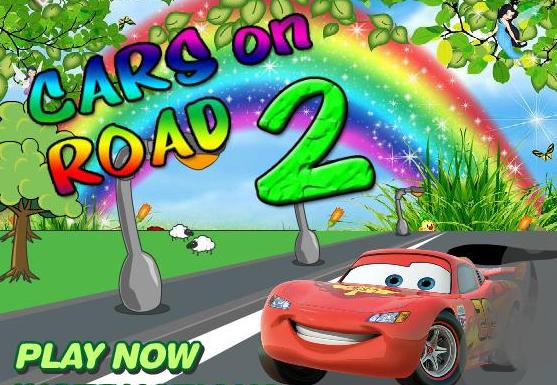 play cars on road 2 flash game